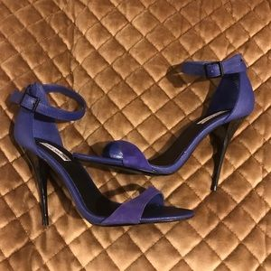 Blue and black Steve Madden Heels